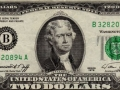 Jefferson on the $2 bill