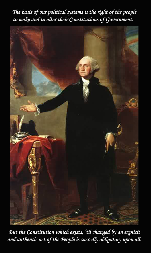 George Washington The Landsdowne Portrait of 1796
