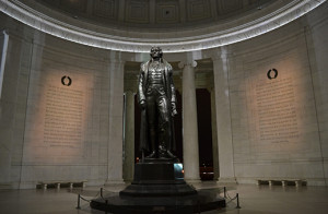 Jefferson Memorial Statue 518