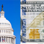 Capital dome and new $100 bill